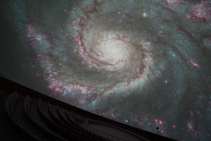 Galaxe (Foto: Planetarium)
