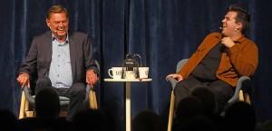 Ulf Pilgaard og Lukas Birch (foto: Emil Andresen)