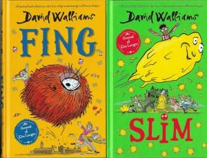 David Walliams' bøger Slim og Fing