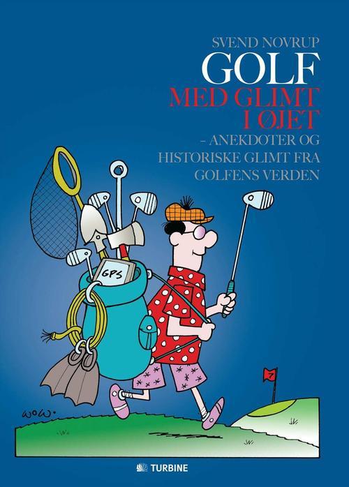 golf spiller tegning